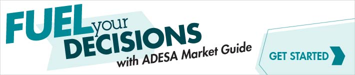 ADESA Market Guide. Most accurate data.